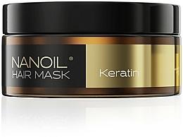 Parfémy, Parfumerie, kosmetika Maska na vlasy s keratinem - Nanoil Keratin Hair Mask
