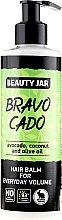 "Parfémy, Parfumerie, kosmetika Balzám pro objem vlasů ""Bravocado"" - Beauty Jar Hair Balm For Everyday Volume"