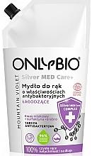Parfémy, Parfumerie, kosmetika Mýdlo na ruce - Only Bio Silver Med Care+ Mountain Violet Hand Soap
