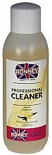 """Parfémy, Parfumerie, kosmetika Odmašťovač nehtů """"Vanilka"""" - Ronney Professional Nail Cleaner Vanilia"""