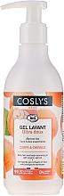 Parfémy, Parfumerie, kosmetika Dětský čistiící gel na tělo a vlasy s organickou meruňkou - Coslys Baby Care Baby Cleansing Gel-Hair & BodyWith Organic Apricot