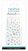 Parfémy, Parfumerie, kosmetika Nálepky pro nehtový design, 3711 - Neess Diamondneess