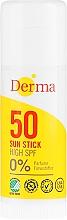 Parfémy, Parfumerie, kosmetika Opalovací krém v tyčince - Derma Sun Sun Stick High SPF50