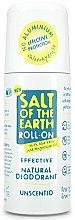 Parfémy, Parfumerie, kosmetika Deodorant roll-on - Salt of the Earth Effective Unsented Roll-On Deo