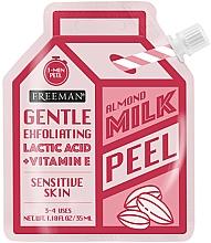 Parfémy, Parfumerie, kosmetika Pleťový peeling s mandlovým mlékem - Freeman Almond Milk Peel