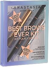 Sada - Anastasia Beverly Hills Best Brows Ever Medium Brown (pencil/0.08g + gel/2.5ml + gel/2.2g) — foto N1