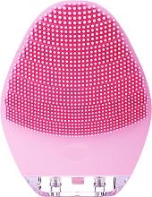 Parfémy, Parfumerie, kosmetika Čisticí kartáč na obličej, BR-040, růžový - Lewer Silicone Facial Cleansing Brush