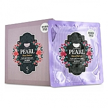 Parfémy, Parfumerie, kosmetika Hydrogelová pleťová maska s perlami a bambuckým máslem - Petitfee & Koelf Pearl & Shea Butter Hydro Gel Mask