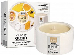 Parfémy, Parfumerie, kosmetika Vonná svíčka - House of Glam Milk & Honey Beauty Ritual Candle