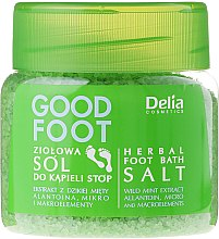 Parfémy, Parfumerie, kosmetika Sůl na nohy - Delia Cosmetics Good Foot Herbal Foot Bath Salt