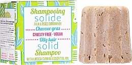 Parfémy, Parfumerie, kosmetika Tuhý šampon pro mastné vlasy - Lamazuna Solid Shampoo For Oily Hair With Litsea Cubeba