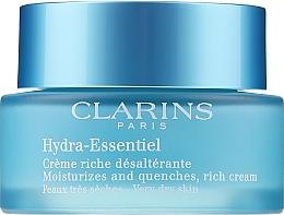 Parfémy, Parfumerie, kosmetika Hydratační krém pro suchou plet' - Clarins Hydra-Essentiel Rich Cream
