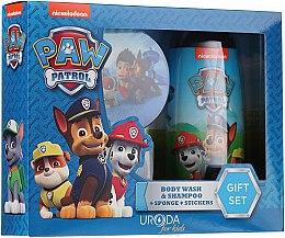 Parfémy, Parfumerie, kosmetika Sada - Uroda Paw Patrol Boy (sh/gel/250ml + sponge + stickers)