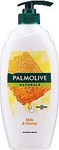 Parfémy, Parfumerie, kosmetika Sprchový gel - Palmolive Naturals Milk Honey Shower Gel (s dávkovačem)