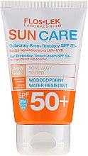 Parfémy, Parfumerie, kosmetika Ochranný tonizující krém SPF 50+ - Floslek Sun Protection Tinder Cream SPF50+