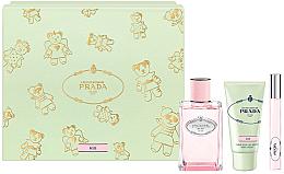 Parfémy, Parfumerie, kosmetika Prada Infusion De Rose 2017 - Sada (edp/100ml + h/cr/50 + edp/10ml)