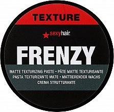 Parfémy, Parfumerie, kosmetika Textúrový krém npro objem vlasů - SexyHair StyleSexyHair Frenzy Flexible Texturizing Paste