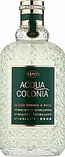 Parfémy, Parfumerie, kosmetika Maurer & Wirtz 4711 Acqua Colonia Blood Orange & Basil - Kolínská voda