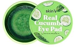 Parfémy, Parfumerie, kosmetika Polštářky na oči a obličej Okurka - Skin79 Real Cucumber Eye Pad