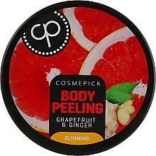 Parfémy, Parfumerie, kosmetika Cukrový tělový peeling s vůní grapefruitu a zázvoru - Cosmepick Body Peeling Grapefruit & Ginger