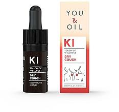 Parfémy, Parfumerie, kosmetika Směs esenciálních olejů - You & Oil KI-Dry Cough Touch Of Welness Essential Oil