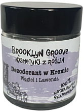 Parfémy, Parfumerie, kosmetika Deodorant- krém s vůní levandule a citronové trávy - Brooklyn Groove Deodorant Cream