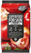 Parfémy, Parfumerie, kosmetika Čisticí pleťové ubrousky Rajčata - Superfood For Skin Fresh Food Facial Cleansing Wipes