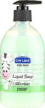"Parfémy, Parfumerie, kosmetika Tekuté mýdlo ""Hruška"" - On Line Kids Time Liquid Soap Pear"