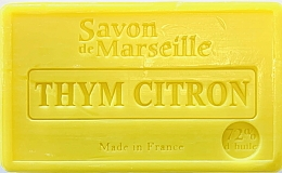 Parfémy, Parfumerie, kosmetika Mýdlo Tymián-citron - Le Chatelard 1802 Savon de Marseille Thyme-Lemon Soap