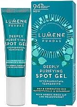Parfémy, Parfumerie, kosmetika Gel proti akné - Lumene Puhdas Deeply Purifying Spot Gel