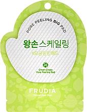Parfémy, Parfumerie, kosmetika Peeling disk na obličej se zeleným hroznem - Frudia Pore Peeling Big Pad Green Grape