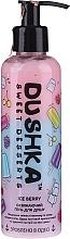 Parfémy, Parfumerie, kosmetika Osvěžující sprchový gel Leděné bobule, s dávkovačem - Dushka Sweet Desserts Ice Berry Shower Gel