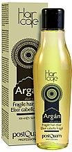 Parfémy, Parfumerie, kosmetika Elixír pro jemné vlasy s arganovým olejem - PostQuam Argan Fragile Hair Elixir
