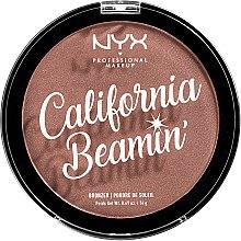 Parfémy, Parfumerie, kosmetika Bronzer na tělo a obličej - NYX Professional California Beamin Face & Body Bronzer