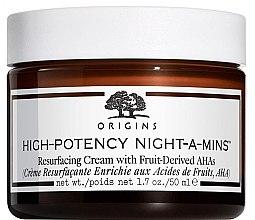 Parfémy, Parfumerie, kosmetika Zvlhčující pleťový krém  - Origins High-Potency Night-A-Mins Resurfacing Cream