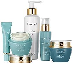 Parfémy, Parfumerie, kosmetika Sada - Oriflame NovAge Skinergise Set (gel/150ml+eye/cr/15ml+ser/30ml+day/cr/50ml+/night/cr/50ml)