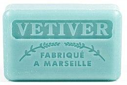 """Parfémy, Parfumerie, kosmetika Marseillské mýdlo """"Vetiver"""" - Foufour Savonnette Marseillaise Vetiver"""