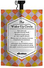 Parfémy, Parfumerie, kosmetika Antistresová vyrovnávací maska na vlasy - Davines Wake-Up Circle Hair Mask