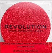 Parfémy, Parfumerie, kosmetika Rozjasňovač na obličej - Makeup Revolution Shimmer Dust