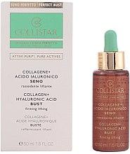 Parfémy, Parfumerie, kosmetika Koncentrát pro zpevnění poprsí - Collistar Attivi Puri Collagene + Acido Ialuronico