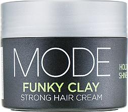 Parfémy, Parfumerie, kosmetika Silný fixační krém na vlasy - Affinage Mode Funky Clay