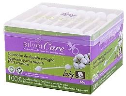 Parfémy, Parfumerie, kosmetika Vatové tyčinky dětské, 56 ks - Silver Care Coton