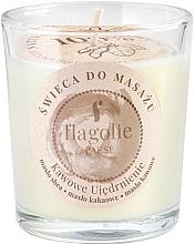 Parfémy, Parfumerie, kosmetika Masážní svíčka ve skle Posilující káva - Flagolie Coffee Firming Massage Candle