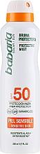 Parfémy, Parfumerie, kosmetika Opalovací sprej pro tělo - Babaria Protective Mist For Sensitive Skin Spf50