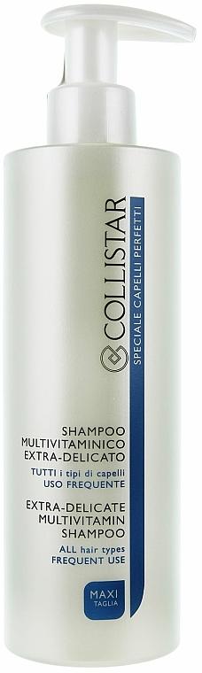 Multivitaminový šampon pro časté používání - Collistar Extra-Delicate Micellar Shampoo — foto N5