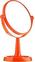 Parfémy, Parfumerie, kosmetika Zrcadlo se stojánkem 85734, kulaté, 15,5 sm, oranžové - Top Choice Colours Mirror