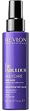 Parfémy, Parfumerie, kosmetika Čistící sprej pro tenké vlasy - Revlon Professional Be Fabulous Daily Care Fine Hair Volumizing Hair Spray