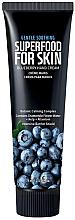 Parfémy, Parfumerie, kosmetika Krém na ruce a nehty s borůvkou - Superfood For Skin Hand Cream Blueberry