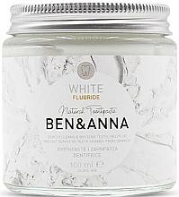 Parfémy, Parfumerie, kosmetika Přírodní zubní pasta - Ben & Anna White Fluoride Toothpaste