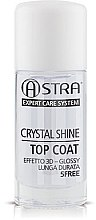 Parfémy, Parfumerie, kosmetika Vrchní lak na nehty - Astra Make-up Crystal Shine Top Coat